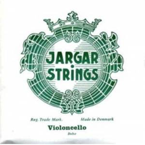 Jargar Cello String - Jargar (Green) (Chrome) 2nd Soft Cello 4/4 (Re) D (One Piece)