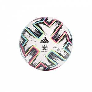 adidas Men's UNIFO MINI Soccer Ball, White/Black/Signal Green/Bright Cyan, 1