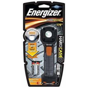 Energizer LED Torch, Hard Case Pivot, Batteries Included