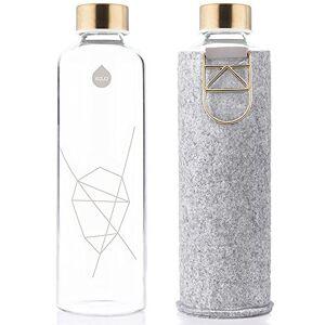 Equew #equa EQUA Adult Mismatch 750 ml Water Bottle, Gold, S