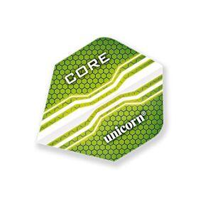 Unicorn Core 75 Core Plus Dart Flight, Green, One Size