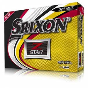Srixon Z-Star Golf Balls (One Dozen) (2019 Version), Pure White