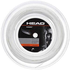 HEAD Unisex's Hawk Reel Racquet String-Multi-Colour/White, Size 17