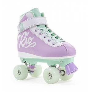 Rio Roller Milkshake Skates, Unisex children, unisex_child, RIO130_37_Multicolor (Mint Berry), Multicoloured (Mint, Berry), 37
