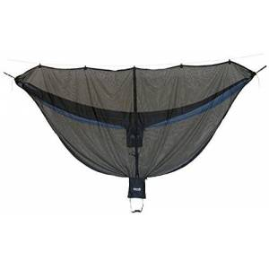 Eagles Nest Outfitters ENO Guardian Bug Net 70 Denier Rip Stop Nylon Sky Weave Mesh Bite Free Peace Of Mind Compatible All ENO Hammocks Full Length Zip Entry Spaciaous Interior Ample Headroom Weight 454 g