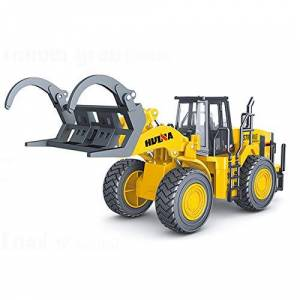 HuiNa CY1914 1/40 DIECAST Fork Truck Loader Static Model, Yellow