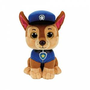 Ty Toys 41208 Paw Patrol - Chase with Glitter Eyes 15 cm