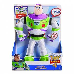 Giochi Preziosi - Toy Story Plush Buzz with Functions, Multicolor, TYR05000