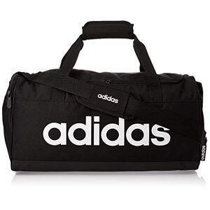 adidas Lin Duffle S Duffel - Black/Black/White, NS