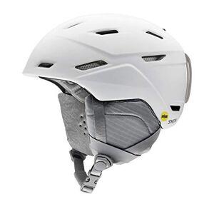 SMITH Mirage MIPS Snow Helmet, Matte White, Small