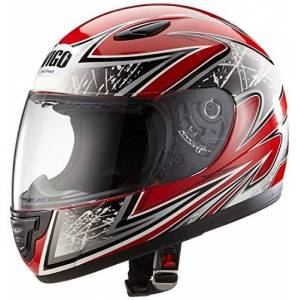 Sa03-Rt-S Protectwear Children motorcycle helmet red SA03-RT Size S (Youth XL) 54/55 cm