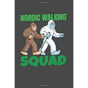 Nordic Walking Squad: Camminata Nordica Taccuino Blocco Note Scacchi I 6X9 Camminatore Diario Bloc Notes 120 Pagine I Escursionequaderno Piccolo Libro Con Fogli Di Carta