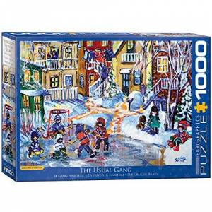 EuroGraphics 6000-5332 The Usual Gang Game Puzzle
