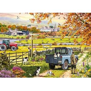 Otter House Countryside Morning 1000 Piece Jigsaw
