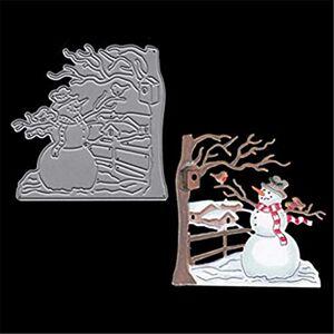 HINK Metal Christmas Embossing Stencil Card Album Scrapbooking DIY Punch Craft Home & GardenKitchenDining & Bar