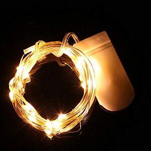 LEEDY String Lights, LEEDY Special 20 LED Battery Power Operated Mini Fairy String Light, Decor Window Curtain Lights for Christmas Home Window Wedding Birthday Party Bedroom Living Room Patio, 2M (B, 2M)