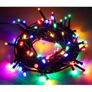 Christmas Concepts 80 Static LED String Lights 12M (39ft) Energy Efficient A++ - Christmas Lights - Indoor/Outdoor Lighting (Multi)