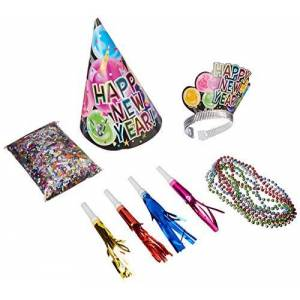 Unique Party 15566 - New Years Eve Celebration Party Kit for 25