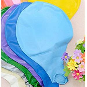 Dosige 4 Pcs Balloons Latex Balloons Party Balloon Colored Balloons Colorful Balloons for Wedding Birthday Christmas Party Valentines Decoration 36 Inch Extra Large (Blue)