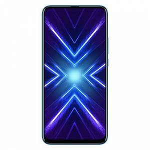 HONOR 9X Dual SIM Smartphone, 6.59 FHD+ FullView Display, 48MP AI Triple Camera, 4,000mAh large battery, 4GB RAM+128 GB storage, Android 9.0, Sapphire Blue, UK Official Version