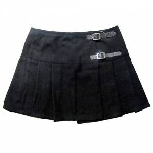 "Viper London Plain Black 13"" Skirt Size UK 6"