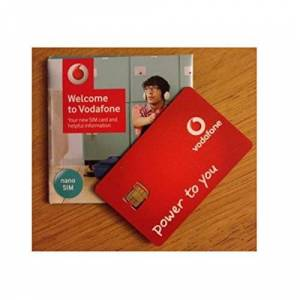 Vodafone Superfast 3G/4G 'Nano' SIM Card Pay As You Go For iPhone 5, 5C, 5S, 6, 6S, 6+, iPad 3, 4, 5, Air/Air 2 / Galaxy S3, S4, S5, S6 S6-Edge, Galaxy Tab/Notes 2, 3, 4, 5, HTC, Sony, Blackberry & All Mobile Device - UNLIMITED CALLS, TEXTS & DATA