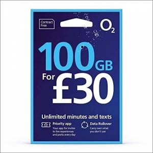 O2/02 Topup 30 for 20GB Internet, 5000 mins + 5000 texts. FAST 4G Pay As You Go Multi SIM Card - NANO/MICRO/STANDARD size. Fits iPhone 5S/6/6S/7 Plus/8 Plus/SE/X & Samsung Galaxy S7 Edge/S8 phones
