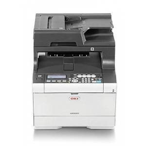 Oki 46552701 MC563DN A4 MFP 4 in 1 up to 30ppm White, Printer With Start Up Toners