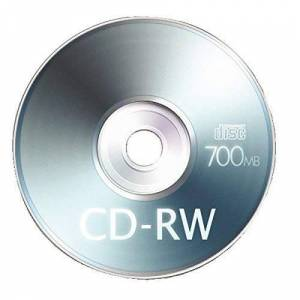 Q-CONNECT Q Connect 700 MB CD-RW Slimline Jewel Case