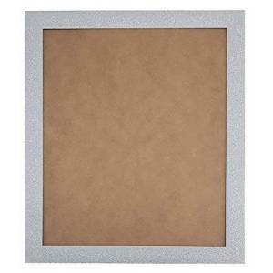 FRAMES BY POST Glitz Gunmetal Picture Photo Frame For 18 x 12 Inch Plastic Glass