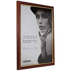 "Dorr"" Tessin Mahogany Wood Photo Frame, Gold, 24 x 2 x 33 cm"