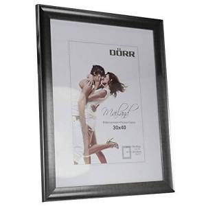 "Dorr"" Mailand Effect Photo Frame, Pewter, 35 x 2 x 45 cm"