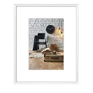 """Hama """"Sevilla"""" Plastic Photo Frame 10 x 15 cm White"""