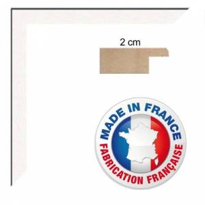 """RK Photo Frames Wall Photo Frame 28x33 cm / 28 x 33 cm (about 12""""x13"""" inch) frame White, 2 cm wide, Wood picture frame"""