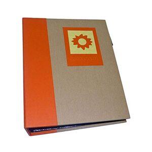 Dorr Green Earth Orange Sun Mini Max 7x5 Slip Album-120 Photos, Fabric, 17 x 6 x 20 cm