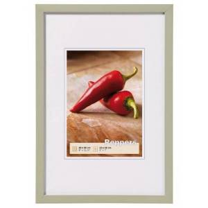 Walther Peppers BP015A Wooden Picture Frame, Grey, 24 x 30 cm