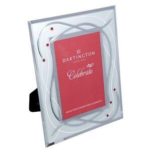 Dartington Crystal Celebrate Photo Frame, Ruby