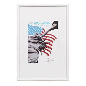Dorr New York Photo Frame, White, 18 x 12-Inch