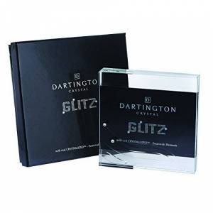 Dartington Crystal Glitz Block Frame, 15.4 x 15.4 x 15.4 cm