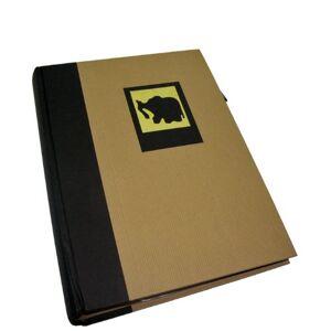 Dorr Green Earth Black Elephant 6x4 Slip Album-300 Photos, Vinyl, 6 x 4-Inch