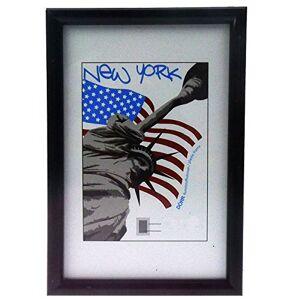 Dorr 12x8 New York Photo Frame - Black