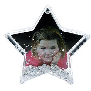 Dorr Star Shaped Snow Globe Photo Frame