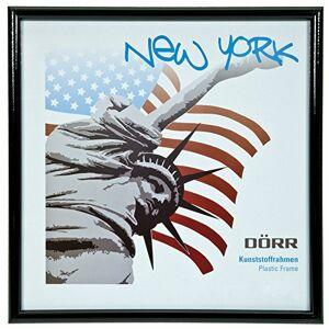 Dorr New York 5x5-Inch Square Photo Frame - Black