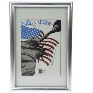Dorr 12x8 New York Photo Frame - Silver