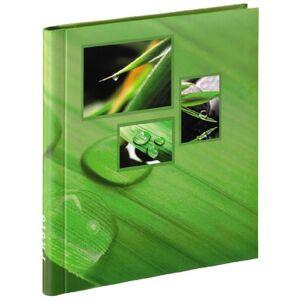Hama 106265 Singo Photo Album, Self-Adhesive Green, 28 x 30cm, 20 pages