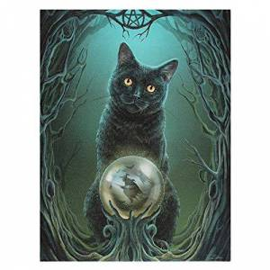 Spirit of Equinox Rise of the Witches Canvas by Lisa Parker
