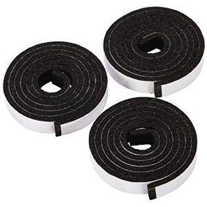 Xavax - Sealing Tape for Ceramic Hob, 3 x 1.10 m - Black - Foam (1 Accessories)