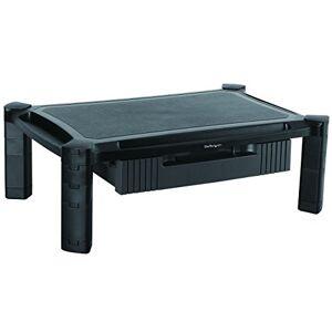 StarTech.com Adjustable Monitor Riser - Large - Drawer - Monitors up to 32- Adjustable Height - Desk Monitor Stand (MONSTADJDL)