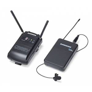 Samson Concert 88 Camera Lavalier UHF Wireless System, Channel D