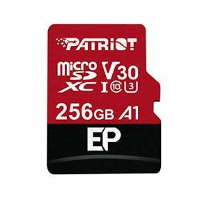 Patriot Memory Patriot 256GB A1 Micro SD Card for Android Phones and Tablets, 4K Video Recording - PEF256GEP31MCX